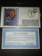 Johnny Unitas Gateway Autograph Fdc Cachet Baltimore Colts Hof Original C.o.a