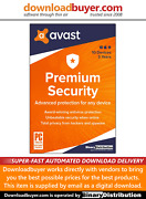Avast Premium Security 2020 - 10 Devices - 3 Years [download]