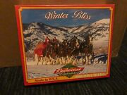 8 1000 Piece Puzzles White Mountain/bits Pieces Clydesdales Patriotic New