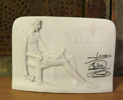 Lladro Collectors Society Don Quixote Plaque Hand Made Spain 1985 Signed
