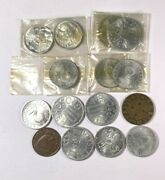 Austrian Coins  Oldies  1929, 1936 And 13 Others   1175