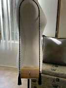 Authentic Vintage Yves Saint Laurent Gold Metal Cross Body. Made In France