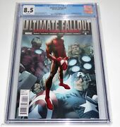 Ultimate Fallout 4 Cgc Universal Grade Comic 1st Appearance Of Miles Morales 🔥