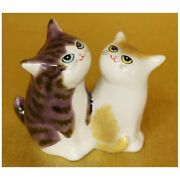 Japanese Porcelain Lucky Charm Cats Are Very Close Kutani Ware Japan Tracking