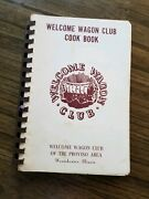 Welcome Wagon Club Cook Book Proviso Area Westchester Illinois 1973