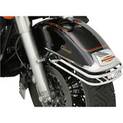 Protection Guide Rails Chrome-plated Front Fender Harley Davidson