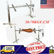 53 Large Spit Roaster Rotisserie Chicken Pig Lamb Roast Electric Bbq Grill
