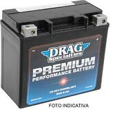 Battery Harley Davidson Xl 883 1200 Drag Premium Max Charger Iron Nightster Low