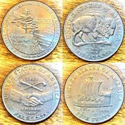2004-2005 Jefferson Nickel Westward Journey Series Lot Of 4 -some With Doubling