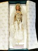 New 1999 Rustie Porcelain Doll Serenity Bride Nrfb 35 Of 2000 W/ Certificate