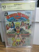 Wonder Woman 1 1987 9.2 Signed By George Perez At His Last Usa Show