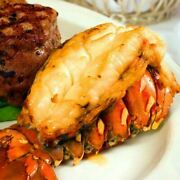 Today Gourmet Foods Of Nc 4 14-16oz Giant Gourmet Cold Water Lobster Tails