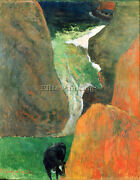 Gauguin Hover Above The Abyss Artist Painting Reproduction Handmade Canvas Repro
