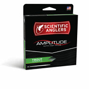 Sa Amplitude Trout Fly Line - Moss/grn/willow S20