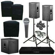 Das Action 12a 12 Powered Speakers And Action 18a 18 Subwoofer Package