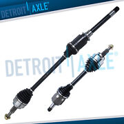 Front Left Right Cv Axle Shafts For 11-17 Dodge Durango Jeep Grand Cherokee Awd