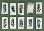 Cigarette Cards Tobacco Cards Motor Cycles 1927 Set, Raleigh, Coventry Victor,