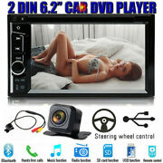 Sony Len Camera Double Din Car Stereo Radio Dvd Player Usb For Mitsubishi Mirage