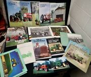 Big Lot Of Tractor Magazines And Books John Deere Jd Restoration Collecting