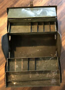 Vintage Cantilever Tool Box - The Real Deal - Lots Of Character - Great Price
