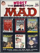 1958 Ec Publications The Worst From Mad Magazine Annual 1 With Intact Inserts