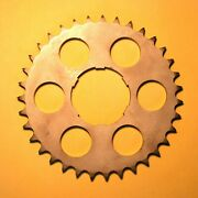 Deluxe And Kj Motorcycle Rear Sprocket - 35 Tooth - Ace And Indian See Description