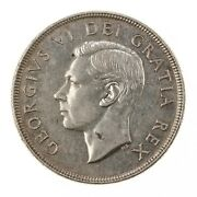 Raw 1952 Canada 1 Uncertified Ungraded Canadian Silver Dollar Coin