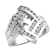 1.0ct Round Real Diamond Channel Engagement Ring For Women Channel Set 10k Gold