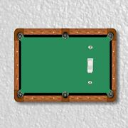 Billiard Table Light Switch And Outlet Plate Covers