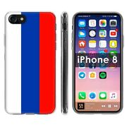 Thin Gel Phone Case Apple Iphone8,8s,7,7s,russia Country Climate National Print