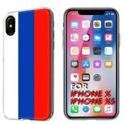 Thin Gel Phone Case Apple Iphone Xs,russia Country Climate Nationality Print