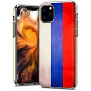Thin Gel Phone Case Apple Iphone 11 Pro,oldflag Russia Country Climate Print