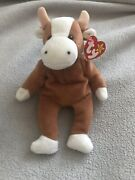 Ty Bessie The Cow Beanie Baby With Errors