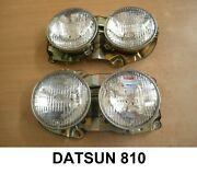 Nissan Bluebrid 810 Head Light Datsun 810 Front Lamps L+r Nos New Old Stock