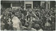 2 July 1945 Press Photo Of Winston S. Churchill During A London Election Tour