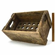 Antique Soda Crate Rare Orange Surprise Syrup And Bottling Co Box Morristown, Nj