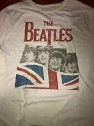 Awesome Junk Food The Beatles Story Cool Faded T-shirt Size 2xl