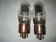 Military Pair Nos Jan 1626 Tube Vt-137 From National Union For Darling Amplifier