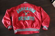 Vintage High School Sports Jacket Anderson Indiana Weight Lifting Club Retro