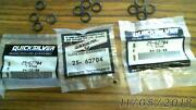62704 25-62704 Lot Of 3 Factory Oem O Rings And 12 Out Of Package Mercury