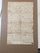Antique 1758 Colonial American Land Deed Gates Woodward Family Preston Ct