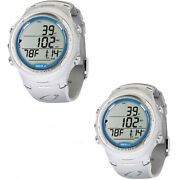 Lo3 Oceanic Oci Dive Computer Dual Algoritm Two Colors White And White