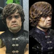 Game Of Thrones 1/1.5 Scale Tyrion Lannister Bust Statue Little Devil In Stock