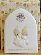 Precious Moments Figurines 1981 Membership First Year For Club New