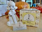 Precious Moments Figurines New I Believe In The Old Rigger Cross