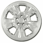 Wheel Skin Covers For 03-07 Subaru Forester [chrome 16-inch Set Of 4] Premium Fx