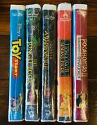 Brand New Walt Disney Vhs - Home Video Collection Pristine Condition