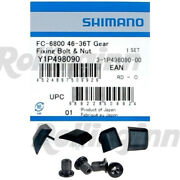 Shimano Ultegra 6800 Chainring Fixing Bolts And Nut Nib Set Of 4