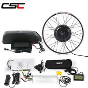 Ebike Conversion Kit And Battery 48v 1000w Hub Motor Wheel With Bluetooth