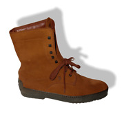 Tods Winter Gommino Ankle Boots In Suede Men Shoes Sz10 New With Shoe Tree
